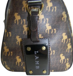 L.A.M.B. Playful Satchel in Brown