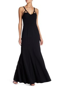 Vera Wang Fitted Spaghetti Strap Dress