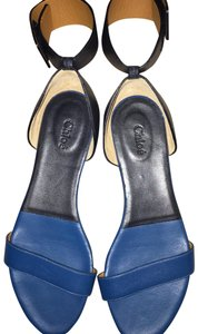 Chloé Blue and Navy Sandals