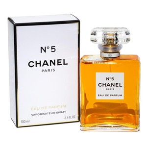 Chanel #16410 NEW SEALED No.5 EAU DE PARFUM 100 ml 3.4 fl oz perfume