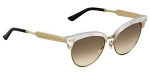 Gucci GUCCI CAT EYE GOLD WHITE MOTHER OF PEARL SUNGLASSES GG 4283/S