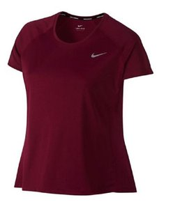 Nike Nike Plus Women's Dry Miler SS 2XL Berry SS Shirt