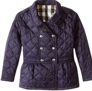 Burberry Eggplant Jacket