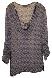 Letarte Swimwear Purple Print Tunic