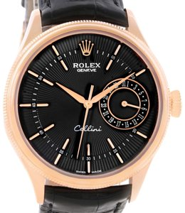 Rolex Rolex Cellini Date 18K Everose Gold Automatic Mens Watch 50515