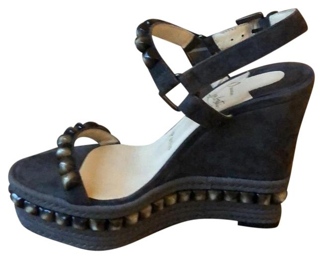 Item - Grey Taupe New Cataclou 120 Veau Wedges Size EU 35 (Approx. US 5) Regular (M, B)