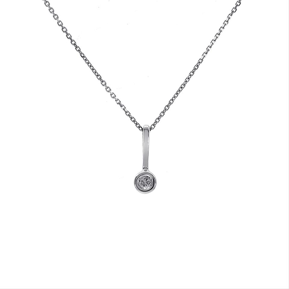 g f white solitaire set diamond gold pendant pearl pendants carat preset bezel vs american