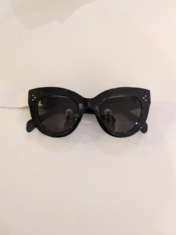 ca20a2b144fa7 Céline Black Cat Eye Cl 41050 807 Sunglasses - Tradesy