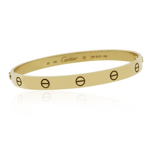 Cartier Cartier 18k Yellow Gold Size 20 Love Bangle