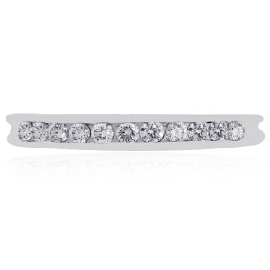 Tiffany & Co. Tiffany & Co. Platinum 0.22ctw Diamond Wedding Band