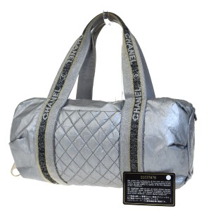 Chanel Made In Italy Satchel in Silver