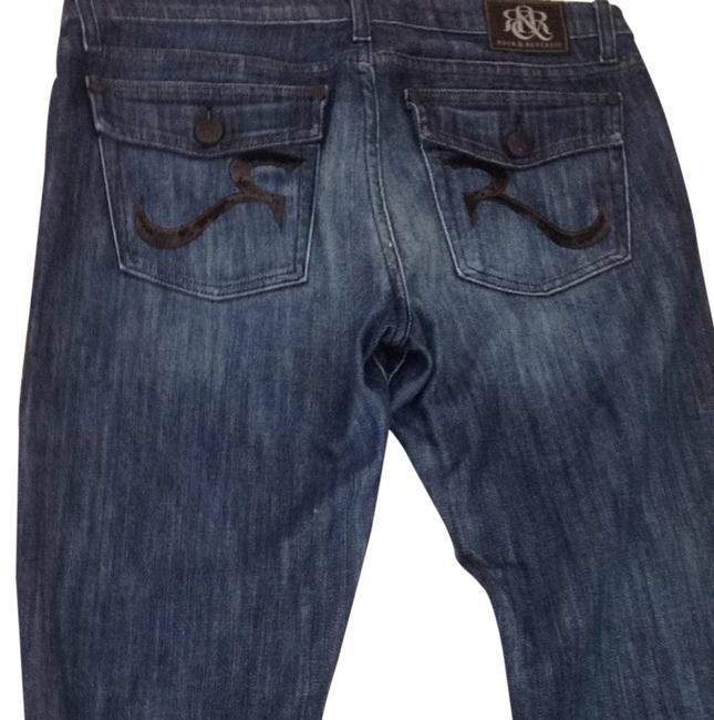 Rock & Republic Relaxed Fit Jeans-Dark Rinse