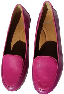 Dansko Nastacia Loafers Leather Comfortable Pink fushia purple Flats
