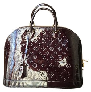 Louis Vuitton Satchel in Maroon