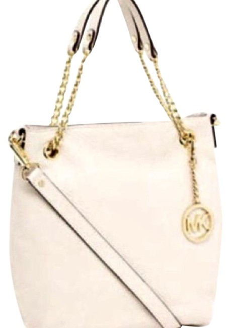 Item - Vanilla /Off White Constructed with The Finest Leather and Meticulous . Hobo Bag