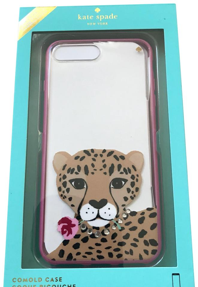 finest selection 1d1f0 cc037 Kate Spade Jeweled Cheetah Iphone 7 Plus Comold Case Tech Accessory 23% off  retail