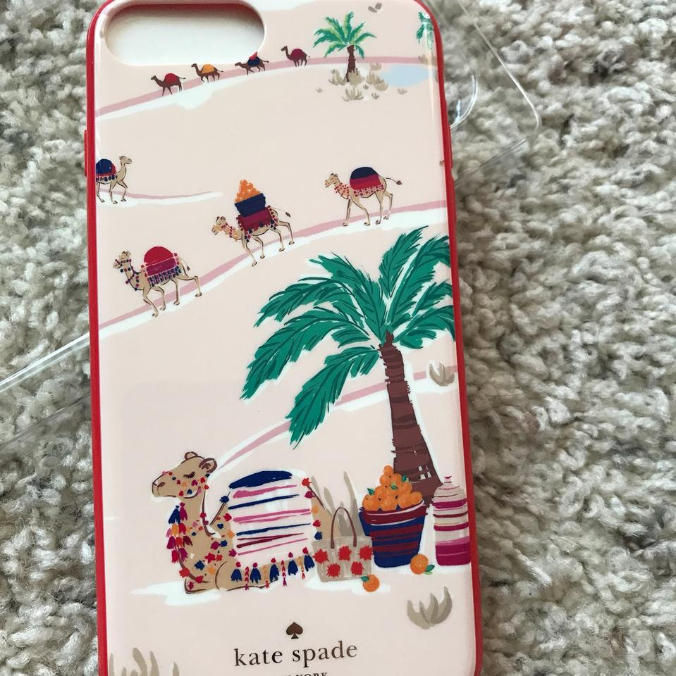 cheap for discount a8e36 70ed3 Kate Spade Desert Camels Iphone 8 Plus Comold Case Tech Accessory 18% off  retail