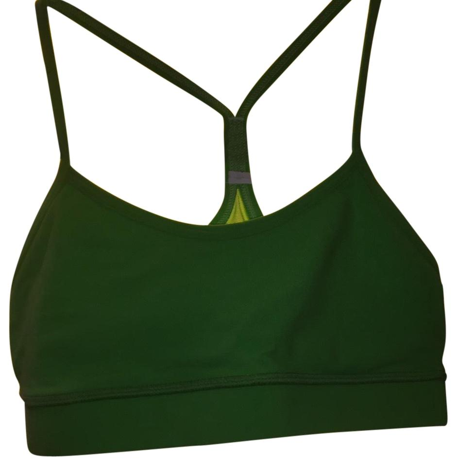 05fe386834 Lululemon Bright Green Soulcycle Racer Back Activewear Sports Bra. Size  4 ( S) ...