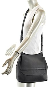 cb8cba8f97fe The Row Side By Pebble Leather Messenger Shoulder Bag