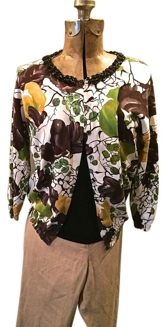 Preload https://item3.tradesy.com/images/magaschoni-multicolor-cotton-jeweled-spring-cardigan-size-8-m-2273802-0-0.jpg?width=400&height=650