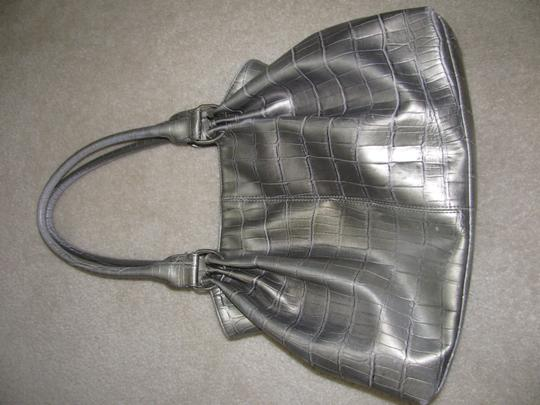Coldwater Creek Satchel in Silver
