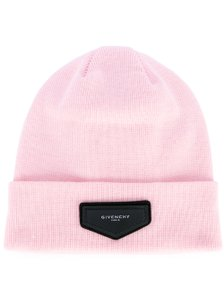 Givenchy Unisex Pink Beanie