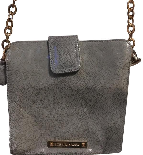 Item - Runway Slate Leather Cross Body Bag