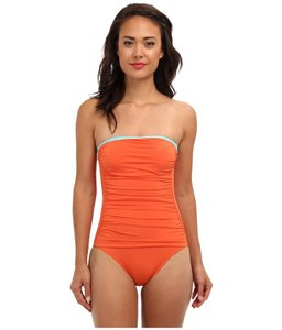 Tommy Bahama Bandeau cup one-piece
