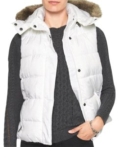 Banana Republic Very Pretty Removable Hood Warm Vest