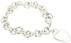 Tiffany & Co. Tiffany & Co. Engravable Heart Tag Charm Bracelet in Sterling Silver