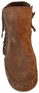 Minnetonka Dusty Brown Boots