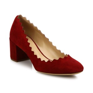 Chlo Ruby Red Pumps