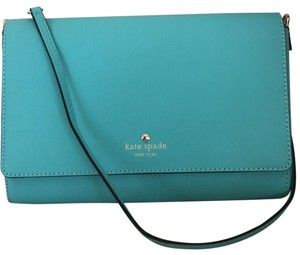 Kate Spade Turquoise Clutch