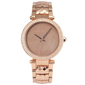 Michael Kors NWT Parker Rose Gold-Tone Three-Hand Watch MK6426