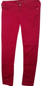 Celebrity Pink Straight Pants Hot pink