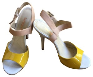 Luxury Rebel mustard yellow Sandals