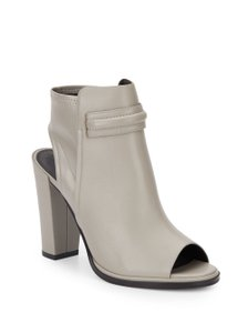 Tribeca by Kenneth Cole Open Toe Silver Boots
