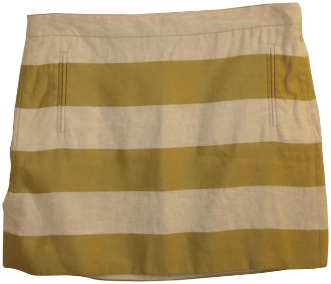 Item - Chartreuse Tan Style#14852 Rn#77388 Skirt Size 8 (M, 29, 30)