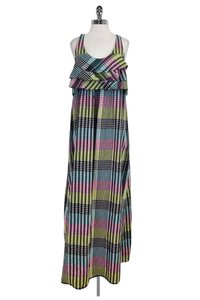 Multi Maxi Dress by SUNO Color Plaid