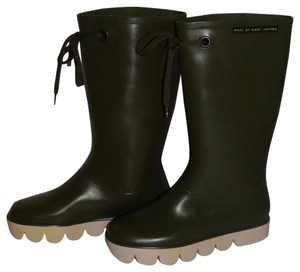 Marc by Marc Jacobs Olive Boots
