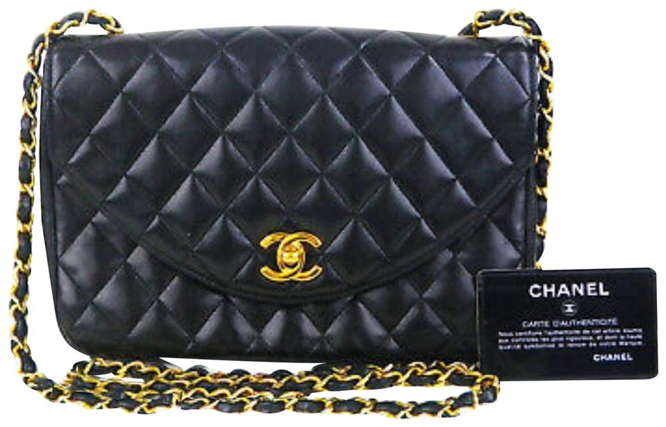 e1e65e6890 Chanel Classic Flap Cc Turn Lock Quilted Chain(24k Gold Plated )bag ...