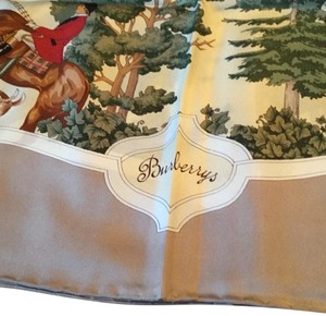 Burberry London Burberry London, Horse and Hounds Silk Scarf