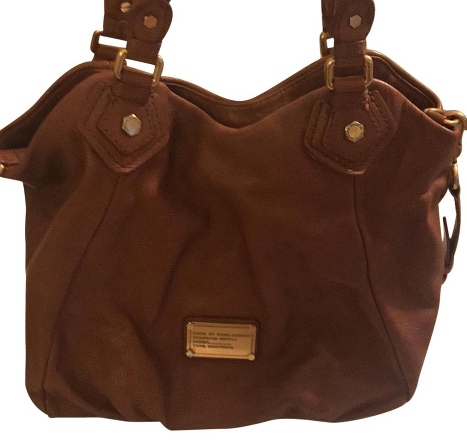 2f899148fe05 Marc by Marc Jacobs Classic Q Francesca Tote Brown Leather Hobo Bag ...