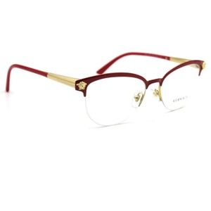 Versace VERSACE 1235 Eyeglasses Red and Gold Frame 53mm