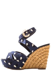 Louis Vuitton Navy Sandals