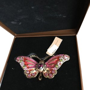 Jay Strongwater Jay Strongwater Pink Jeweled butterfly Trinket Box