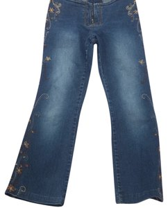 Z. Cavaricci Flare Leg Jeans-Light Wash