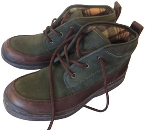 Cole Haan green/brown Boots