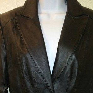 East 5th Essentials Leather Leather Jacket