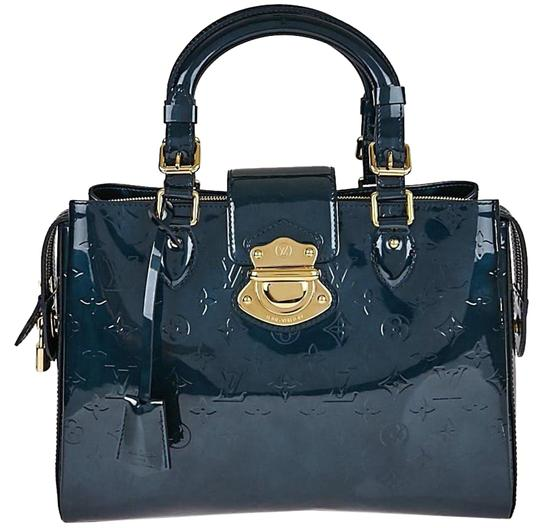 Preload https://item1.tradesy.com/images/louis-vuitton-melrose-monogram-vernis-avenue-blue-nuit-leather-baguette-22742755-0-2.jpg?width=440&height=440